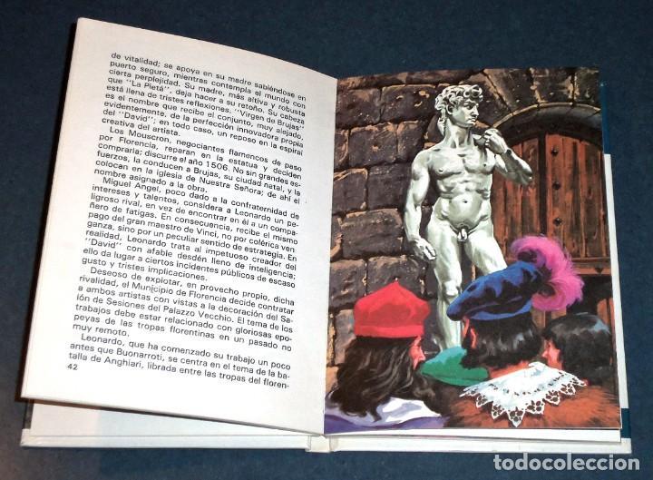 """Libros de segunda mano: Libro """"Vidas Ilustres - MIGUEL ÁNGEL BUONARROTI"""" (Susaeta Ediciones) - Foto 2 - 247681890"""