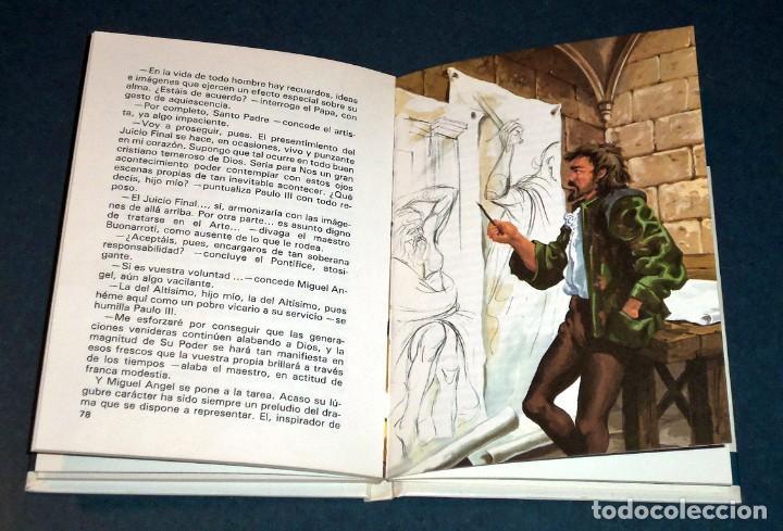 """Libros de segunda mano: Libro """"Vidas Ilustres - MIGUEL ÁNGEL BUONARROTI"""" (Susaeta Ediciones) - Foto 3 - 247681890"""