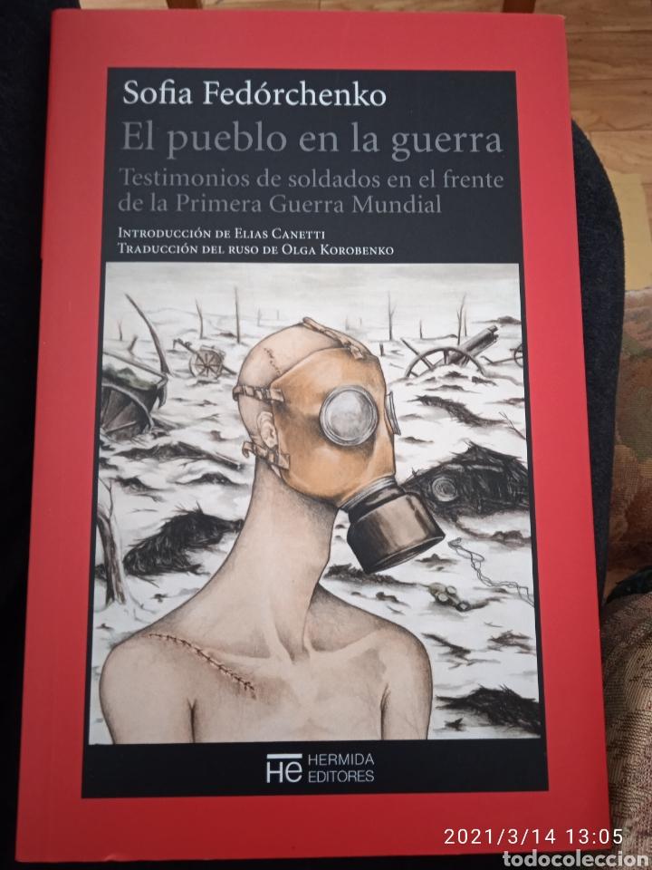 EL PUEBLO EN LA GUERRA DE SOFÍA FERORCHENKO (Libros de Segunda Mano (posteriores a 1936) - Literatura - Otros)