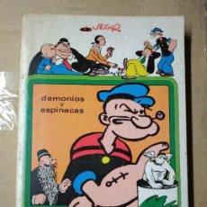 Libros de segunda mano: DIABLOS Y ESPINACAS. 35 COMICS CLÁSICOS DE POPEYE.. Lote 247714675