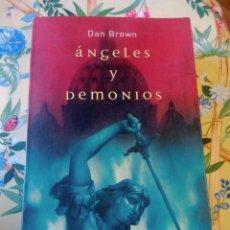 Libros de segunda mano: DAN BROWN: EL CODIGO DA VINCI Y ÁNGELES Y DEMONIOS. Lote 247743115