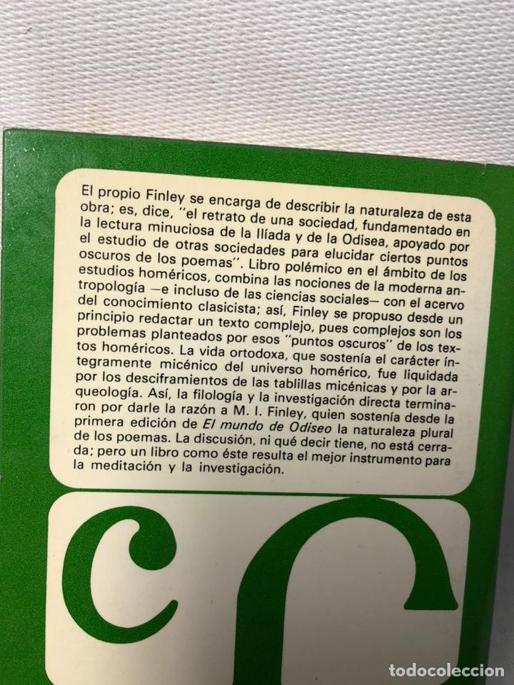 Libros de segunda mano: EL MUNDO DE ODISEO ··· BREVIARIOS ··· M. I. FINLEY ·· ED. EFE ··· - Foto 4 - 248250540