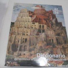 Libros de segunda mano: DICCIONARIO DE TÉRMINOS ARTÍSTICOS Y ARQUITECTÓNICOS W5917. Lote 248425990