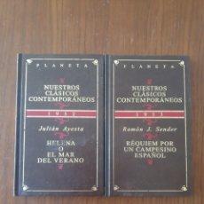 Libros de segunda mano: LOTE DE 2 LIBROS, CLASICOS CONTEMPORANEOS. Lote 248438225