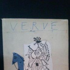 Libros de segunda mano: 1951 - PICASSO - VERVE. REVUE ARTISTIQUE - PEINTURES, SCULPTURES ET CÉRAMIQUES RÉALISÉS A VALLAURIS. Lote 248472750