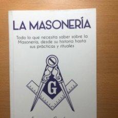 Libros de segunda mano: LA MASONERÍA. FRANCESC CARDONA. PLUTÓN EDICIONES. HISTORIA Y RITUAL. NUEVO.. Lote 248811410