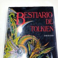 Libros de segunda mano: BESTIARIO DE TOLKIEN DE DAVID DAY - CÍRCULO DE LECTORES 1991. Lote 248830205