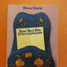 Livros em segunda mão: CARTAS A UN JOVEN POETA. RAINER MARIA RILKE. ALIANZA EDITORIAL. Lote 248991385