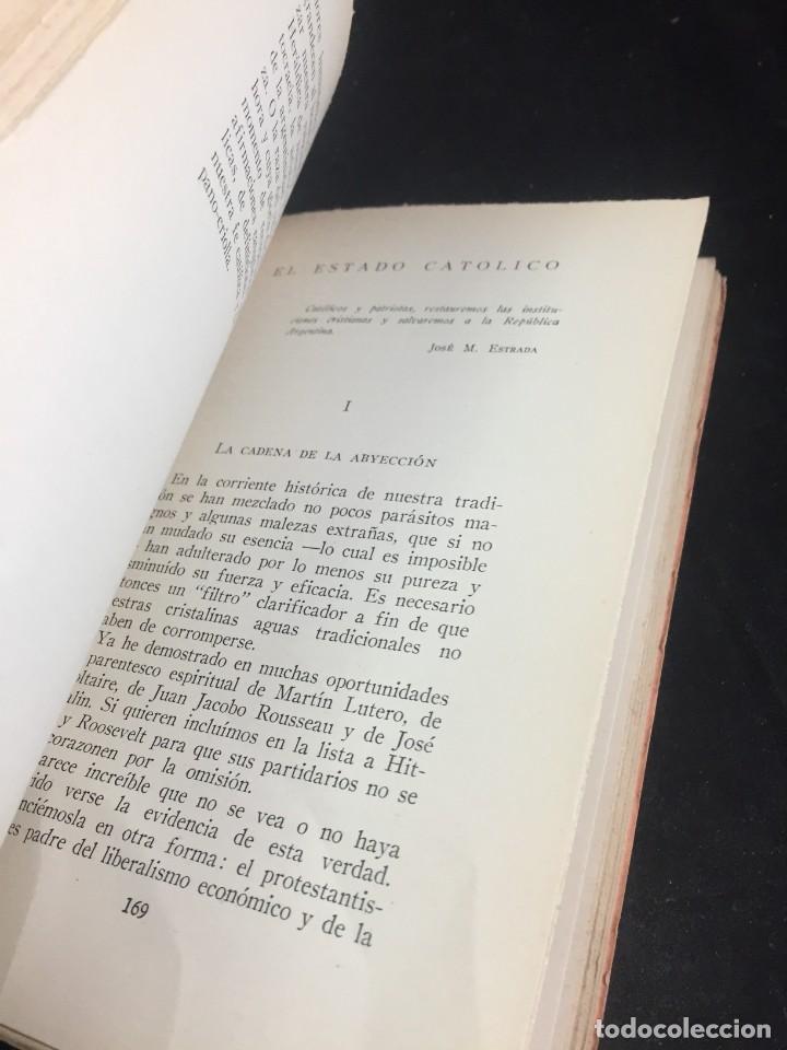 Libros de segunda mano: El destino de la Argentina. Gabriel Riesco. Grupo de Eds. Católicas 1944. intonso - Foto 4 - 249039210