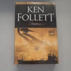Libros de segunda mano: KEN FOLLET TRIPLE. Lote 249093730