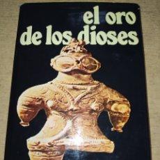 Libri di seconda mano: EL ORO DE LOS DIOSES. VON DÄNIKEN. NUEVA FONTANA. EDICIONES MARTÍNEZ ROCA. AÑO 1974. CARTONÉ CON SOB. Lote 249230975