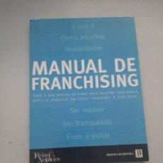 Libros de segunda mano: MANUAL DE FRANCHISING. Lote 249258045