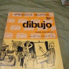 Libros de segunda mano: M-27 LIBRO APRENDIZAJE INDUSTRIAL 2 DIBUJO RAMA ELECTRICA JUAN BAUTISTA ROMAN NIETO EVEREST. Lote 249358385