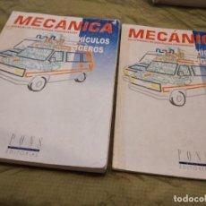 Libros de segunda mano: M-27 LIBRO MECANICA PONS VEHICULOS LIGEROS Y CUESTIONARIO. Lote 249359140