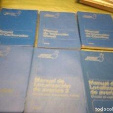 Libros de segunda mano: M-27 LIBRO LOTE 6 LIBROS MANUALES PRACTICOS DEL AUTOMOVIL CEAC LOS DE FOTO. Lote 249359655