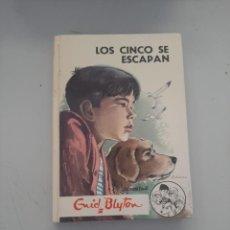 Libros de segunda mano: LOS CINCO SE ESCAPAN. Lote 249541670