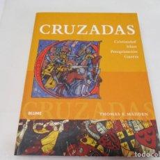 Libros de segunda mano: THOMAS F. MADDEN CRUZADAS W6013. Lote 249550770
