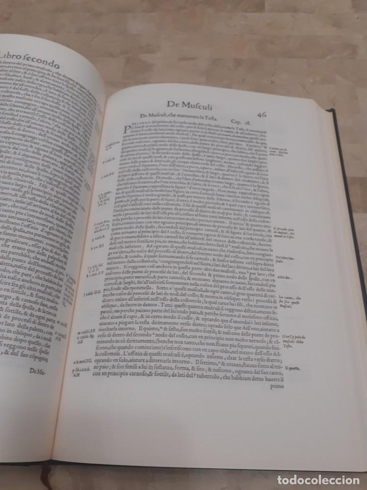 Libros de segunda mano: Libro Facsimil Valverd Anatomi - Foto 2 - 250274285