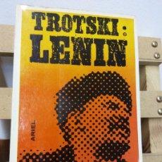 Libros de segunda mano: LENIN. LEÓN TROTSKI. EDICIONES ARIEL. Lote 251049440