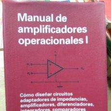 Livros em segunda mão: MANUAL DE AMPLIFICADORES OPERACIONALES I. L.13773-1061. Lote 251227555