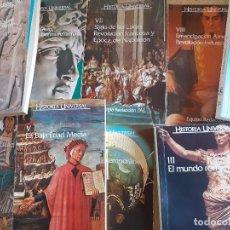 Libros de segunda mano: HISTORIA UNIVERSAL 9 VOLS COMPLETA, TAMAÑO BOLSILLO EQUIPO REDACCION PAL. Lote 251764650