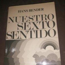 Libri di seconda mano: NUESTRO SEXTO SENTIDO, HANS BENDER.. Lote 251905490