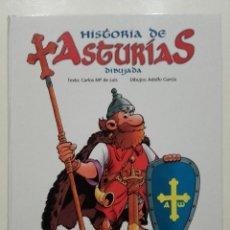 Libros de segunda mano: HISTORIA DE ASTURIAS DIBUJADA - ADOLFO GARCIA - LA NUEVA ESPAÑA - CAJASTUR, 2010. Lote 251917810