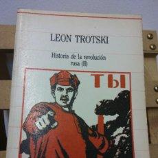 Libros de segunda mano: LEÓN TROTSKI. HISTORIA DE LA REVOLUCIÓN RUSA. TOMO II. EDICIÓN SARPE. Lote 252036015