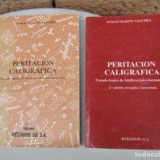 Libros de segunda mano: PERITACION CALIGRAFICA. TRATADO BASICO 2 LIBROS. Lote 252036035