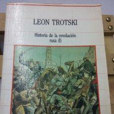 Libros de segunda mano: LEÓN TROTSKI. HISTORIA DE LA REVOLUCIÓN RUSA. TOMO I. EDICIÓN SARPE. Lote 252036075