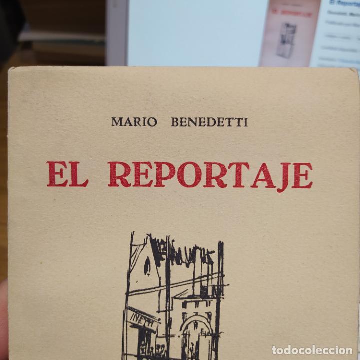 Libros de segunda mano: El Reportaje, Mario Benedetti. Dedicada por el autor. Editada por Marcha, Montevideo, 1958 - Foto 5 - 252056395