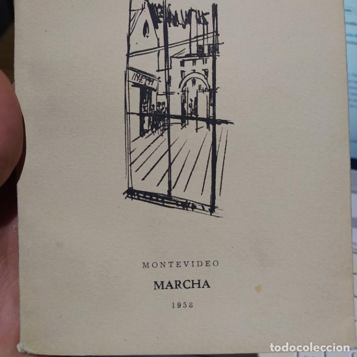 Libros de segunda mano: El Reportaje, Mario Benedetti. Dedicada por el autor. Editada por Marcha, Montevideo, 1958 - Foto 6 - 252056395