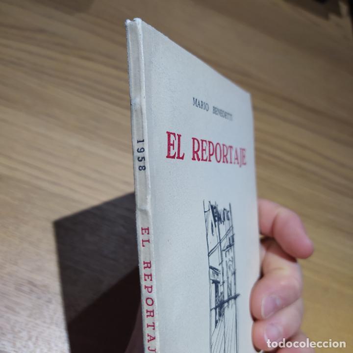 Libros de segunda mano: El Reportaje, Mario Benedetti. Dedicada por el autor. Editada por Marcha, Montevideo, 1958 - Foto 9 - 252056395