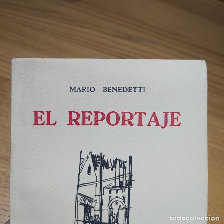 Libros de segunda mano: El Reportaje, Mario Benedetti. Dedicada por el autor. Editada por Marcha, Montevideo, 1958 - Foto 11 - 252056395