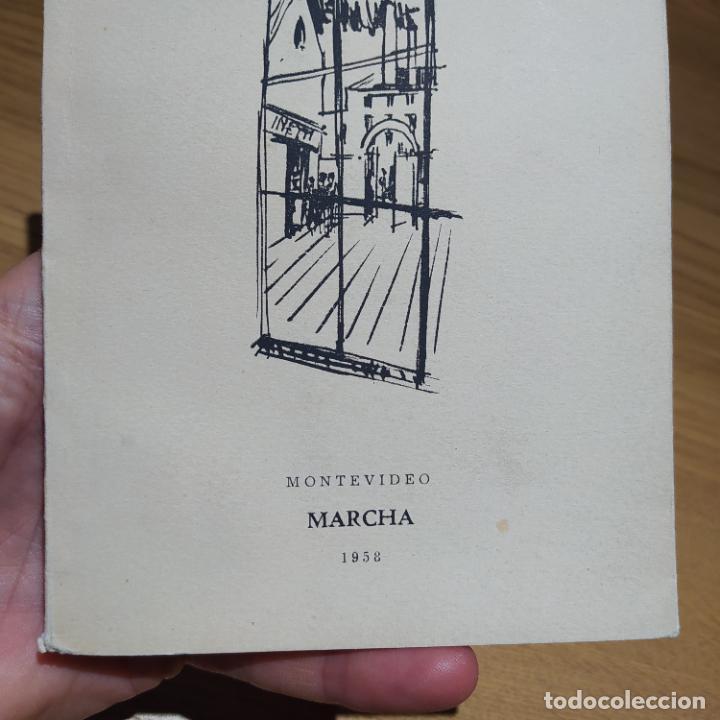 Libros de segunda mano: El Reportaje, Mario Benedetti. Dedicada por el autor. Editada por Marcha, Montevideo, 1958 - Foto 12 - 252056395