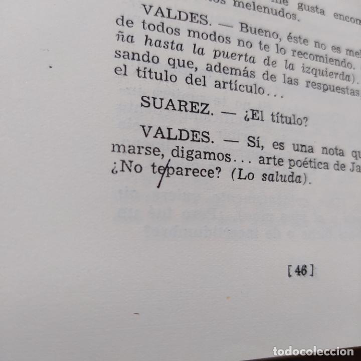 Libros de segunda mano: El Reportaje, Mario Benedetti. Dedicada por el autor. Editada por Marcha, Montevideo, 1958 - Foto 20 - 252056395