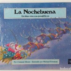 Libros de segunda mano: LA NOCHEBUENA. UN LIBROVIVO CON JEROGLIFICOS - PLAZA JOVEN / PLAZA & JANES. Lote 252058970