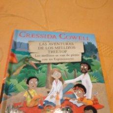 Libros de segunda mano: M-29 LIBRO CRESSIDA COWELL LAS AVENTURAS DE LOS MELLIZOS TREETOP Nº7. Lote 252229630