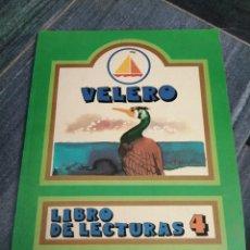 Libros de segunda mano: LIBRO CASI NUEVO CUENTO VELERO LECTURAS N° 4 EVEREST AÑO 1980. Lote 252311050