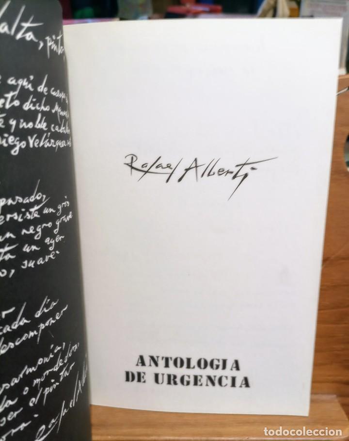 Libros de segunda mano: APROXIMACIÓN A RAFAEL ALBERTI Y MARÍA TERESA LEÓN - DIBUJO A COLOR Y DEDICATORIA DE ALBERTI - Foto 7 - 252352805