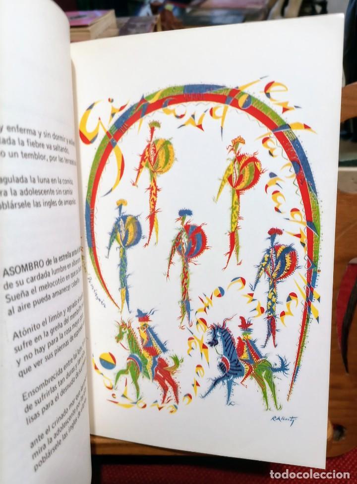 Libros de segunda mano: APROXIMACIÓN A RAFAEL ALBERTI Y MARÍA TERESA LEÓN - DIBUJO A COLOR Y DEDICATORIA DE ALBERTI - Foto 9 - 252352805
