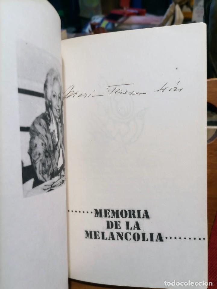 Libros de segunda mano: APROXIMACIÓN A RAFAEL ALBERTI Y MARÍA TERESA LEÓN - DIBUJO A COLOR Y DEDICATORIA DE ALBERTI - Foto 11 - 252352805