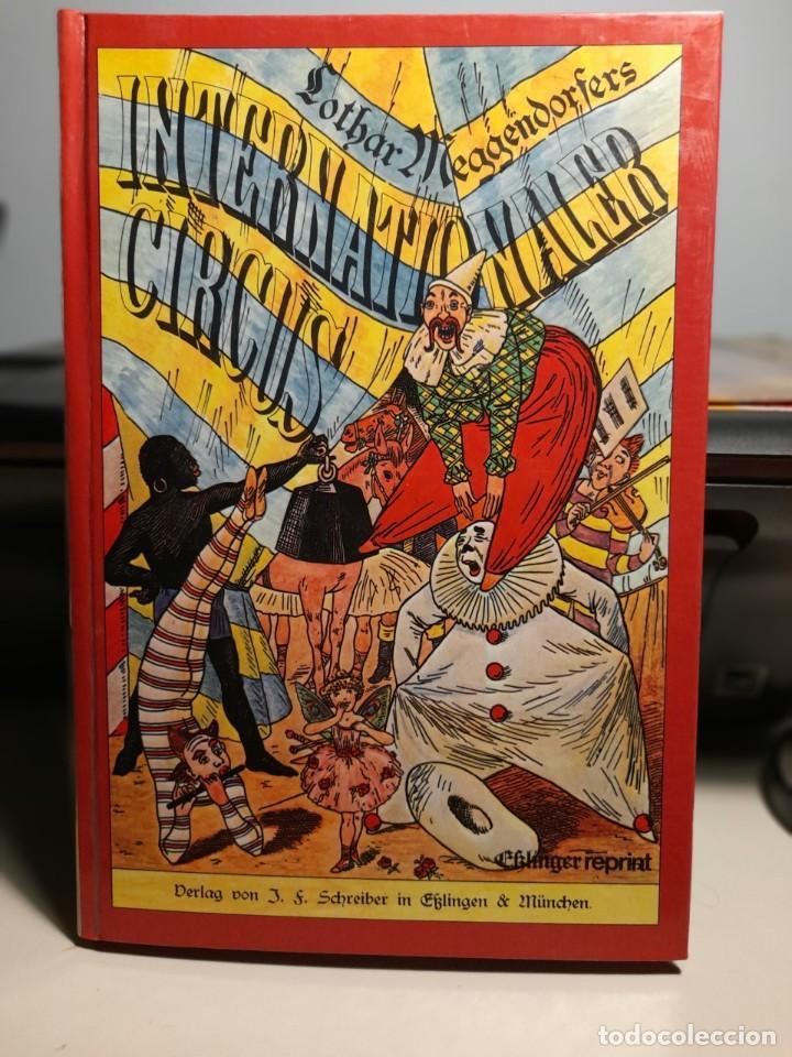 MARAVILLOSO LIBRO DE CIRCO, PAGINAS CON VENTANAS DESPLEGABLES ( LOTHAR INTERNATIONALER CIRCUS) (Libros de Segunda Mano - Bellas artes, ocio y coleccionismo - Otros)