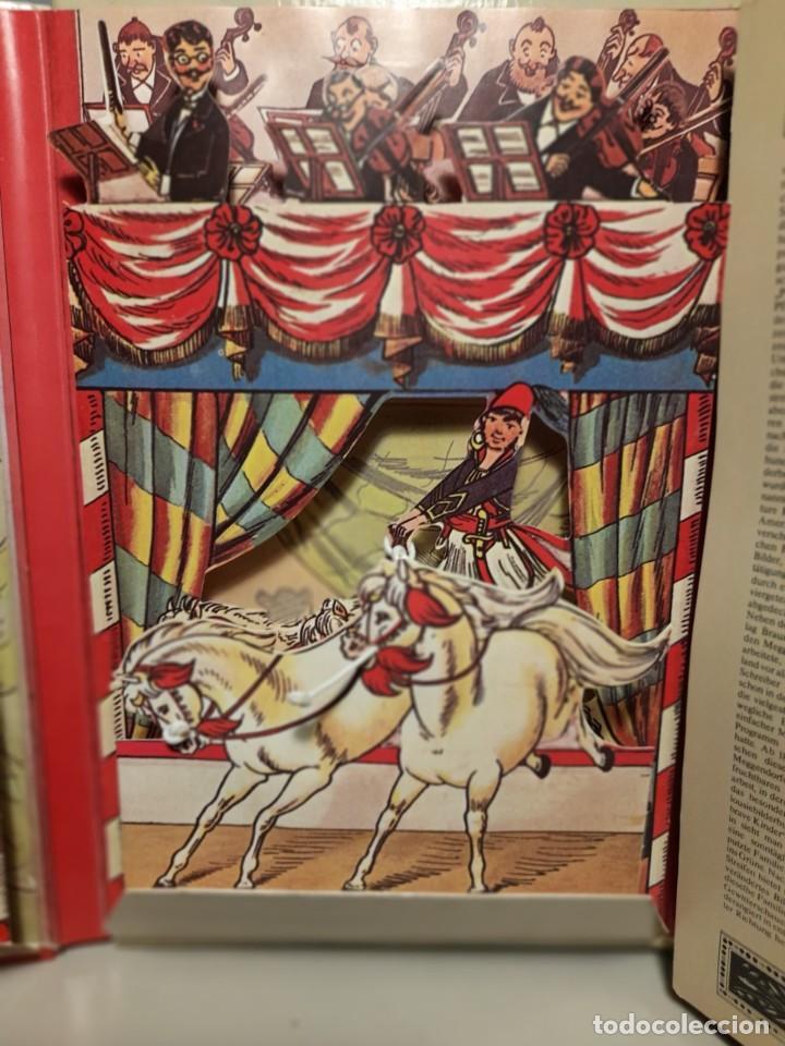 Libros de segunda mano: MARAVILLOSO LIBRO de CIRCO, PAGINAS CON VENTANAS DESPLEGABLES ( LOTHAR INTERNATIONALER CIRCUS) - Foto 4 - 252438270