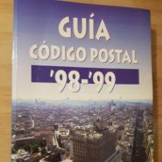 Libros de segunda mano: GUIA CORREOS CÓDIGOS POSTALES 98-99. Lote 252520050