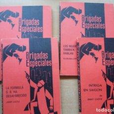 Libros de segunda mano: BRIGADAS ESPECIALES. 4 NÚMEROS. Lote 252653080