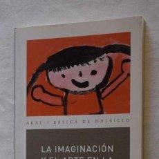 Libros de segunda mano: LA IMAGINACION Y EL ARTE EN LA INFANCIA - L S VIGOTSKY - ED AKAL , 2011. Lote 252842750