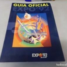 Libros de segunda mano: GUIA OFICIAL EXPO SEVILLA 92. Lote 253143550