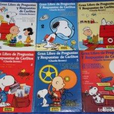 Libros de segunda mano: GRAN LIBRO DE PREGUNTAS Y RESPUESTAS DE CARLITOS - GRIJALBO. Lote 253192425