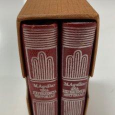 Libros de segunda mano: UNA EXPERIENCIA EDITORIAL. POR M. AGUILAR. MADRID 1972.. Lote 253226870